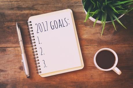 Firmenseminare Ziele - Block mit 3 Zielen für 2017