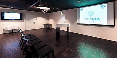 Bild vom Legends Club in der Bossard Arena Zug wo das Fachreferat: Exzellente Dienstleistung: So begeistern Sie Ihre Kunden stattfindet