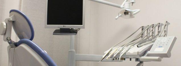 Leerer Zahnarztstuhl wegen abgewanderter Patienten